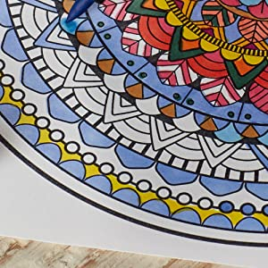 Vivid Colors for Illustrations and Adult Coloring Pages