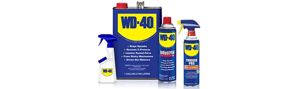 WD-40, WD40, lubricant, lubricate, rust remover, water displacement, Industrial, heavy-duty