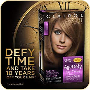 clairol, anti-aging hair color, anti-aging hair dye, blonde hair colors, blonde hair dye