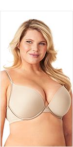 olga, flirty, sexy bras, full figure bras, deep plunge bras, gd0771a