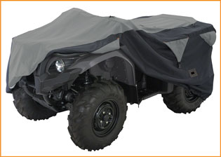 ATV Black Deluxe Storage Cover