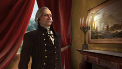 George Washington, leader of the American faction in Sid Meier's Civilization V