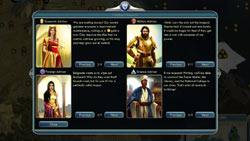 In-game advice council from Sid Meier's Civilization V