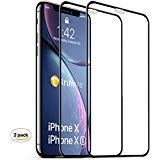 Truwire Tempered Glass Screen Protector Designed for iPhone 11 Pro Max, iPhone Xs Max, Anti Scratch, HD Clarity, 3D Touch, Bubble Free and Case Friendly, 6.5 Inch, 2 Pack