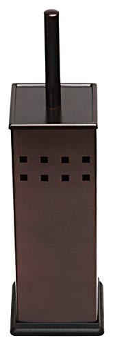 Toilet Brush and Holder, Toilet Bowl Brush for Bathroom, Toilet Cleaner, Odor Free, Bronze