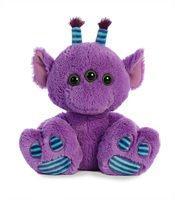 Aurora Purple Alien Taddle Big Toes -Plush Animal