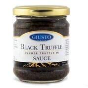 Giusto Sapore Premium Gourmet Truffle Cream - Imported from Italy and Family Owned (Black Truffle Sauce, 6.3)
