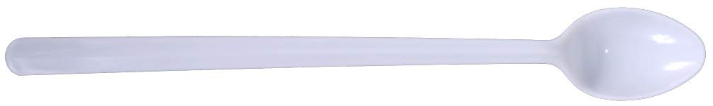 Daxwell Plastic Soda Spoons, Medium Heavy Weight Polypropylene, White, Recyclable, A10000612 (Case of 1,000)