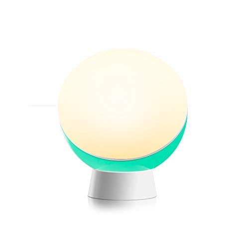 AETHLUX LED Night Light for Kids, Nursery Light, Stick Anywhere Baby Night Light, Stepless Dimmable, Non-Flicker, Warm White, CRI90, Rechargeable, Sleep Aid Function, Green