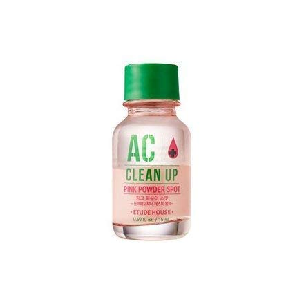 ETUDE HOUSE AC Clean Up Pink Powder Spot (old version) | Non-comedogenic tested | Potent soothing effect that calms down the troubled areas