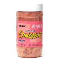 Wel-Pac Pickled Ginger Sliced, 11.5-Ounce Jars (Pack of 3)
