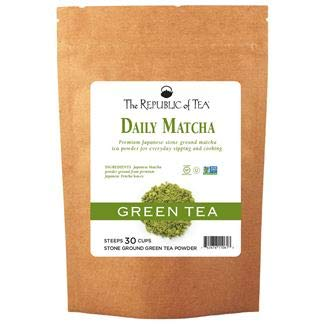 The Republic of Tea - Non-GMO, Japanese Matcha Tea Powder Bulk Size – 4.5 Ounces