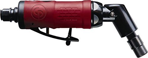 Chicago Pneumatic CP9108Q-B Heavy Duty Angle Die Grinder - Pneumatic Grinder with Inbuilt Air Regulator. Power Tools