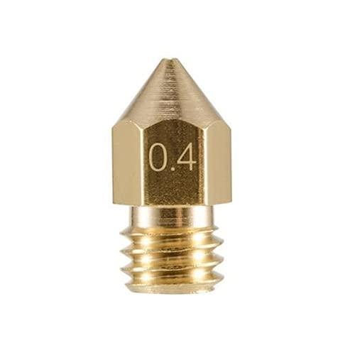 HOUSTASK The Best All Metal Hotend Upgrade Kit Standard 0.4mm for Creality CR-10 / CR10 / CR10S / Ender 2 / Ender 3 Ender 5 Printers,Design in USA(0.4mm Nozzle)