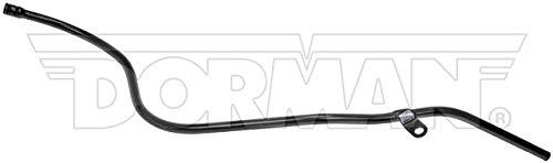 Dorman 917-488 Engine Oil Dipstick Tube - Metal for Select Chevrolet/GMC Models, Black Paint