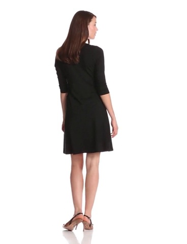 Karen Kane Women's Three-Quarter Sleeve A-Line Dress