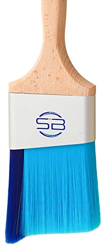 Stinger Brush Pro - Professional Paint Brush with Fill-A-Blend Technology, Angle Brush for Cutting In, Edges, Trim, and Walls (1, 3 Inch - Stinger Pro)