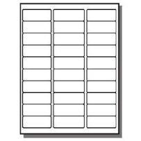 FBA Laser/Ink Jet Labels, for Bar Code, Asin #, Box Labels, Pallet Labels (50 Sheets 30 Up Labels = 1500 Labels)