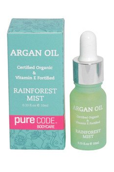 PURECODE Certified scented 100% Pure Organic Argan Oil, 10ml All Natural, Cold Pressed from Morocco for dry skin, dry hair