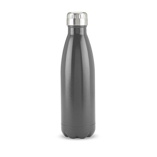 True 5136 TRUE2GO: Stainless steel water bottle 500 ML in Grey, 500ml