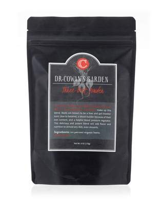 Dr. Cowan's Garden Three Beet Powder with Biodynamic Beets, Made in the USA, 50 Servings