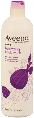 Aveeno Positively Nourishing Aveeno Ultra Hydrating Body Wash, 16 ounces (Pack of 3)