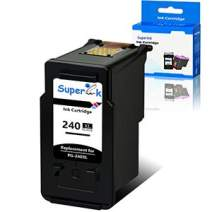 SuperInk High Yield Remanufactured Ink Cartridge Compatible for Canon PG-240XL 240 XL use in Pixma MG3620 MX472 MX452 MG3220 MG3520 MG2220 MX532 MX392 MX432 MX512 TS5120 Printer (Black, 1-Pack)