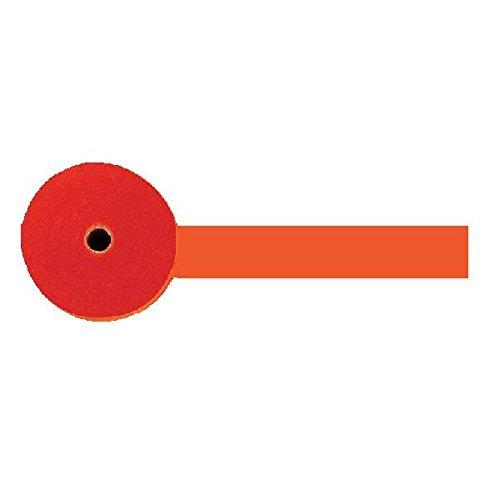 Amscan 18202.05 Party Crepe Streamer, 81', orange