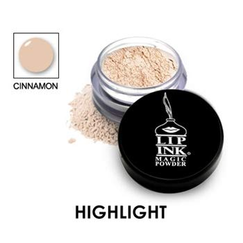 LIP INK Brilliant Magic Makeup Powder - Cinnamon | Natural & Organic Makeup for Women by Lip Ink International | 100% Organic, Kosher, Vegan