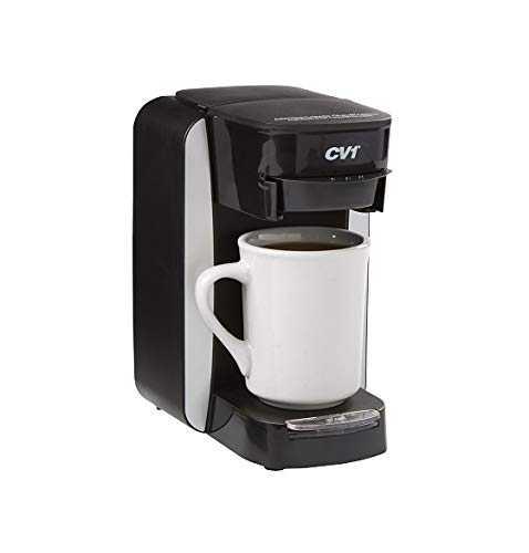 Café Valet One Cup Coffee Maker Single-Serve Brewer, Exclusively for use with Café Valet Coffee Filter Pack with Disposable Brew Basket