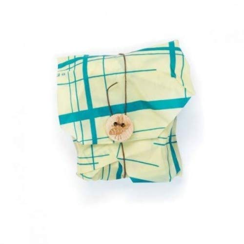 Bee's Wrap Sandwich Wrap, Eco Friendly, Reusable, and Sustainable Plastic Free Food Storage for Wrapping Sandwiches - Geometric Print