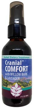 WishGarden Herbs - Cranial Comfort, Organic Herbal Tension Headache Relief Supplement, Soothes and Supports Relief from Tension Headaches (2 Ounce Pump)