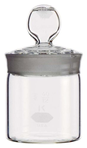 Kimble, Cylindrical Weighing Bottle, High-Form 25x40mm, 12mL (Case of 24)