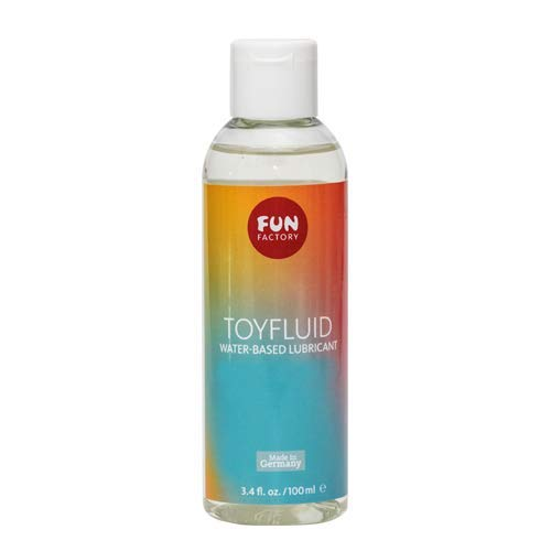 Fun Factory TOYFLUID Water Based Lube - Personal Lubricant for Sex and Silicone Adult Toys 5 oz / 150 ml