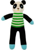 Blabla Bamboo The Bear Mini Plush Doll - Knit Stuffed Animal for Kids. Cute, Cuddly & Soft Cotton Toy. Perfect, Forever Cherished. Eco-Friendly. Certified Safe & Non-Toxic.