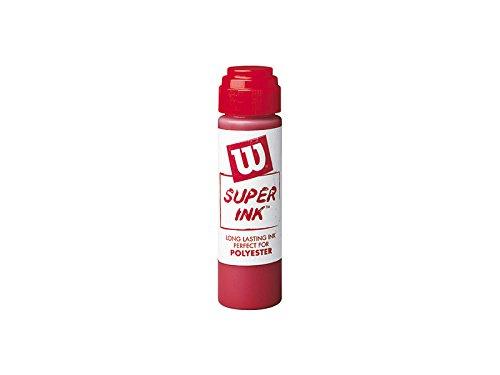 Wilson Sporting Goods Super Stencil Ink, Red