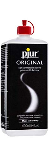 pjur Original Silicone Based Personal Lubricant Intimate Lube for Men & Women, 34 oz