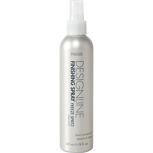 Finishing Spray Freeze Spritz 80% VOC, 8 oz - Regis DESIGNLINE - Firm Hold Strengthening Non-Aerosol Hairspray