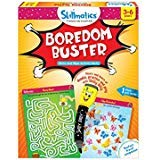 Skillmatics Educational Game: Boredom Buster (3-6 Years) | Erasable and Reusable Activity Mats | Travel Friendly Toy with Dry Erase Marker | Learning tools for Kids 3, 4, 5, 6 Years