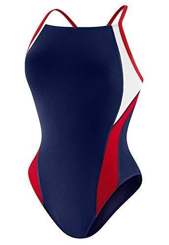 Speedo Launch Splice Cross Back Endurance+ One Piece Swimsuit Swimsuit