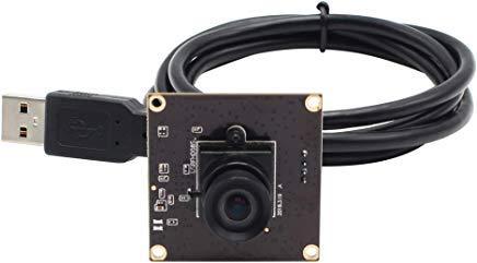 Camera USB 2MP Webcam High Frame 640x360@ 260fps USB Camera Module 100 Degree No Distortion 1080P Web Camera for Industrial USB Camera for PC,ATM,Robot,Video Phones,Kiosk High Speed Webcam OTG Support
