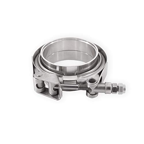 """Mishimoto Stainless Steel V-Band Clamp, 1.5"""" (38.1mm)"""