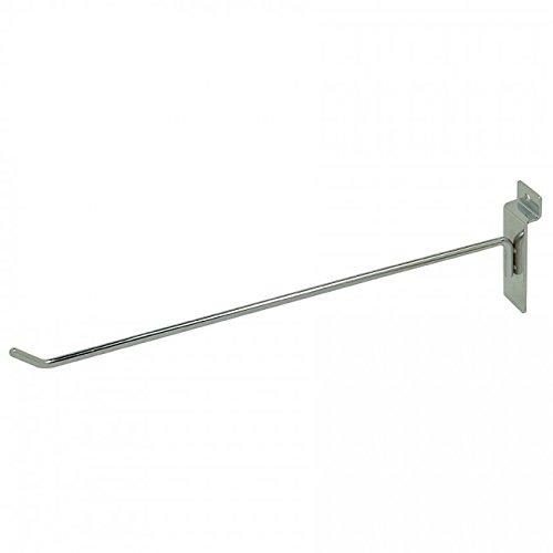 "NAHANCO XT12 Line Slatwall Hook, 3/16"" Thick (Pack of 12)"