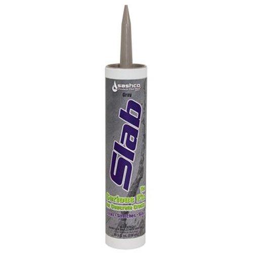 Sashco 16210 Slab Concrete Crack Repair Sealant, Gray, 10.5 Fl. Oz (Pack of 1)