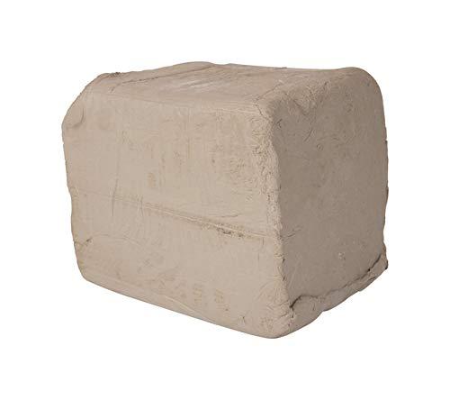 AMACO High Fire Moist Non-Toxic Stoneware Clay, 50 lb, Buff No. 46, Blue - 45083X