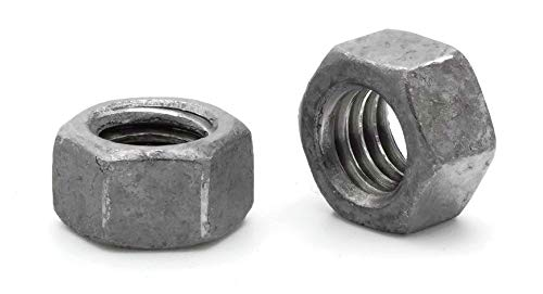 """Hex Finish Nuts Hot Dipped Galvanized -3/4""""-10 UNC- Qty-100"""