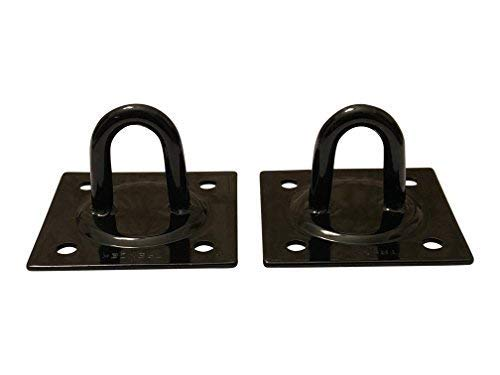 CLAW IT ON Suspension Ceiling Hooks Swing Anchor Heavy Duty Steel Strong Weld Melting Points/Safe Load 1,450 lbs (657kg) 2 Hooks Pack TRENZEK's for Differ Mounting Options (NO Hardware/NO Screws)