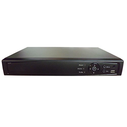 Surveillance Digital Video Recorder 16CH HD-TVI/CVI/AHD H264 Full-HD DVR 3TB HDD HDMI/VGA/BNC Video Output Cell Phone APPs for Home/Office Work @1080P/720P TVI&CVI, 1080P AHD, Standard Analog& IP Cam