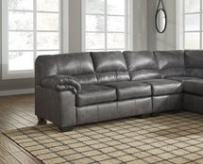 Signature Design by Ashley - Bladen Contemporary Right Arm Facing Sofa - Sectional Component Only, Slate