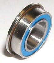 F608-2RS Flanged Bearing 8x22x7 Sealed Miniature Ball Bearings